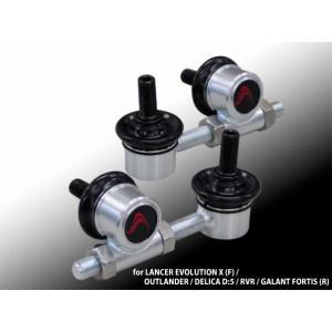 コルトスピード (COLT SPEED) CZ4A ランサーエボ10 スタビライザーリンク・アジャスター フロント 品番:CSD0105-053 colt-speed