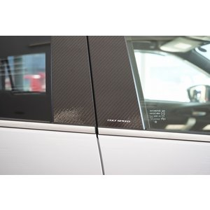 【予約受付中8月下旬新発売!】コルトスピード (COLT SPEED) エクリプスクロス全車種(GK1W、GK9W、GL3W)カーボンピラーカバー colt-speed