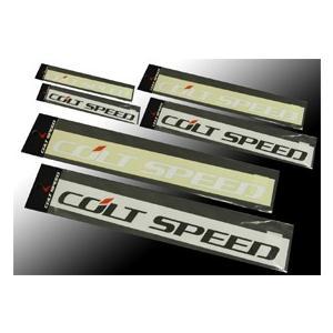 コルトスピード (COLT SPEED) コルトスピード・ステッカー:ホワイト L 品番:CSD1103-001|colt-speed