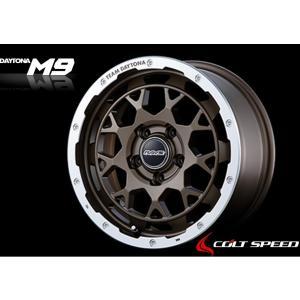 RAYS TEAM DAYTONA M9 レイズ チーム デイトナ M9 7.0J-16 +37mm 5H114.3 マットブロンズ/リムダイヤモンドカット (Z5P)|colt-speed