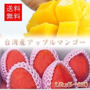 アップルマンゴー 台湾産 2.5kg(5-8玉入)【6月下旬頃発送予定】|comatsuhyakka