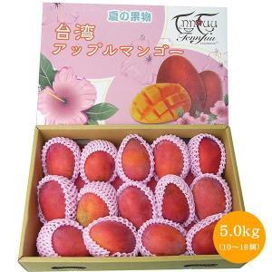 アップルマンゴー 台湾産 5.0kg(9-16玉入)【6月下旬頃発送予定】 comatsuhyakka 03