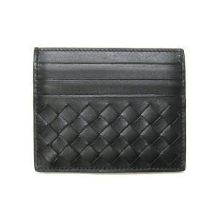 ボッテガヴェネタ カードケース 162150-V4651-1000 定番 シンプル名刺入れ ネロ ブラック |come