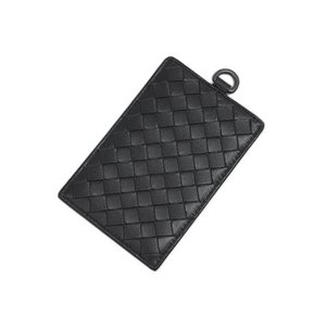 ボッテガヴェネタ カードケース 169722-1000 パスケース イントレッチャート ネロ ブラック|come