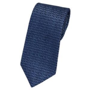 ブルガリ ネクタイ 241570 BVLGARI メンズ ジャガード デザイン ネイビー/ウルトラマリンブルー/ライトブルー 紙袋付き|come
