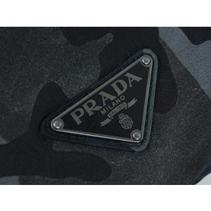 e9a2046c3f1d ... プラダ バッグ 2VZ062 メンズ バックパック リュックサック テッスート カモフラージュ FUMO フーモ ナイロングレー 迷彩  アウトレット ...