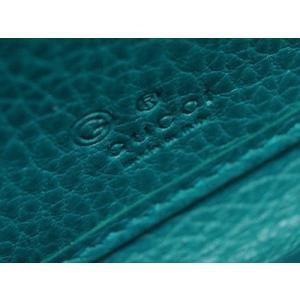 f19079c6a151 ... グッチ 財布 449347-4618 アウトレット ラウンドファスナー長財布 ダブルG 型押しカーフ ブルー