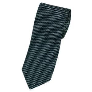 ヒューゴ・ボス ネクタイ ボス ジャガード デザイン シルク100% ブラック/グリーン/ライトグレー 17002|come