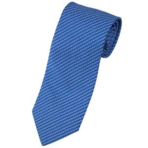 エルメス ネクタイ 659115T HERMES ソルド メンズ ジャガード デザイン シルク100% ネイビー/ブルー|come