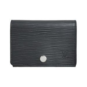 ルイヴィトン M56169 カードケース 名刺入れ エピ ノワール マットブラック アンヴェロップ・カルト ドゥ ヴィジット スナップボタン付き|come