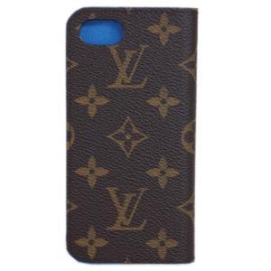 ルイヴィトン M61909 iPhoneケース モノグラム iPhone7・フォリオ ブルー |come