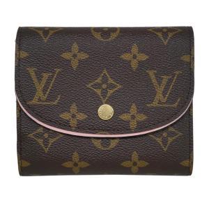 ルイヴィトン M62037 財布 三つ折り財布 小銭入れ付き モノグラム LV ポルトフォイユ・アリアンヌ ローズ・バレリーヌ|come