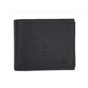 ルイヴィトン M62289 財布 エピ メンズ 二つ折り小銭入付き ポルトフォイユ・マルコ NM ノワール(マットブラック)|come