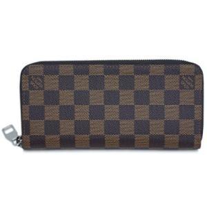 ルイヴィトン N61207  財布 ラウンドジップ長財布 14枚カード ジッピー・ウォレット ヴェルティカル ダミエ・エベヌ|come