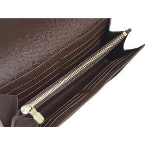 ルイヴィトン N63209 財布 ファスナー長札 長財布 ダミエ ポルトフォイユ・サラ 新型|come|05
