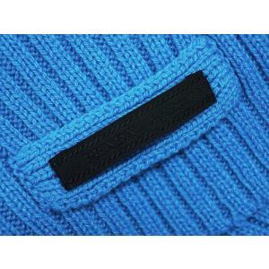f884f8fbbc42 ... プラダ マフラー UMS180 カシミア100% TURCHESE ターコイズ ブルー ...