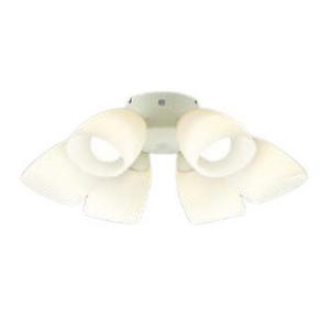 コイズミ照明 インテリアファン用 S-シリーズモダンタイプ専用灯具 適用畳数〜10畳 器具単体で使用不可 AA41897L|comfort-shoumei
