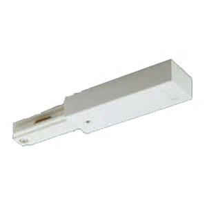 コイズミ照明 ライティングレール用部品 フィードインキャップ 白色:AE0231E