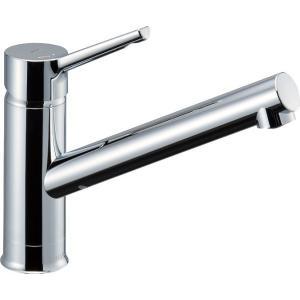 リクシル 水栓金具 キッチン用水栓金具 ワンホールタイプ シングルレバー混合水栓 クロマーレS SF-WM420SYX(JW)|comfort-shoumei