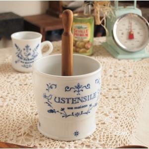 キッチンツールホルダー アンティーク雑貨 フランス雑貨 キュジーヌ ユーテンシルホルダー|comfy-shop