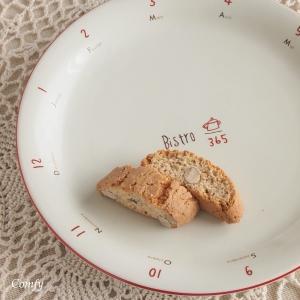 ケーキ皿 カフェ風食器 ビストロ ケーキ皿 レッドラインキッチン雑貨|comfy-shop