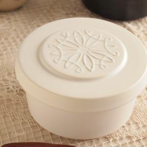 おひつ 陶器 ご飯ジャー 保温保湿 ホワイトM キッチン雑貨 ナチュラルカントリー 北欧|comfy-shop
