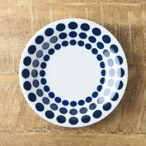 藍ブルー 16.5cm取り皿 ケーキプレート ラウンド 北欧調|comfy-shop