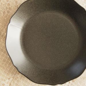 ラウンドプレートL カフェ風食器 グラサージュキッチン雑貨 |comfy-shop