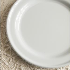 ミートプレート ホーロー雑貨  ホワイト 皿|comfy-shop