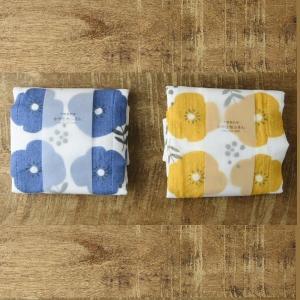 キッチン雑貨 7枚縫い合わせ かや生地ふきん フラワー キッチンクロス|comfy-shop