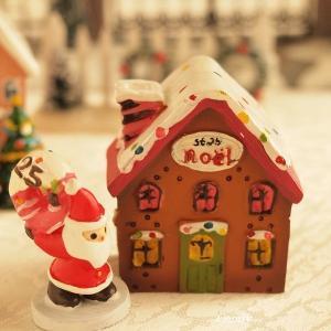 クリスマス雑貨 クッキーハウス 2点セット|comfy-shop