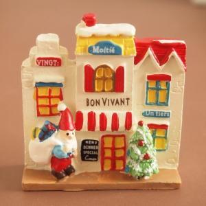クリスマス雑貨 ミニチュアハウス ノエルビストロハウス|comfy-shop