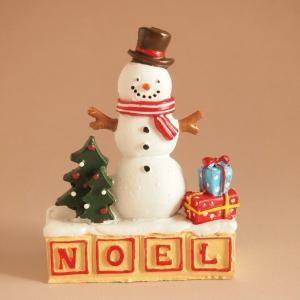 クリスマス雑貨 ミニチュアオーナメント カドースノー スノーマン|comfy-shop