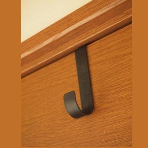 リースハンガー ドア用 リースハンガー 帽子掛け 壁 フック アイアン S|comfy-shop