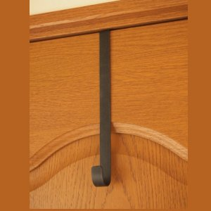 リースハンガー ドア用 リースハンガー 帽子掛け 壁 フック アイアン L|comfy-shop