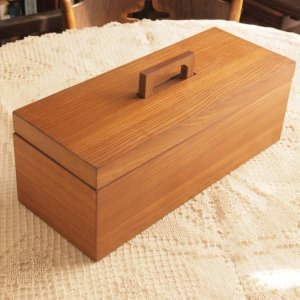 アンティーク調 ブラン マルチストレージボックス(木製収納) ツールボックス|comfy-shop