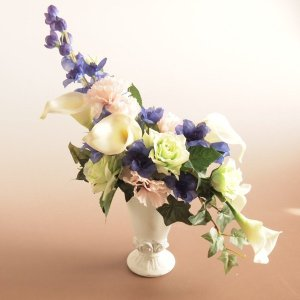アーティフィシャルフラワー 造花インテリア カラー デルフィニウム ミックス|comfy-shop