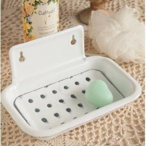 ホーロー雑貨 ホーロー ソープホルダー 石鹸皿 ダルトン|comfy-shop
