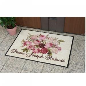 玄関マット インテリア ルドゥーテ 薔薇 バラ 52×70cm|comfy-shop