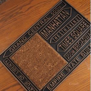 ラバー玄関マット ヤシマット サイン 60×40cm|comfy-shop
