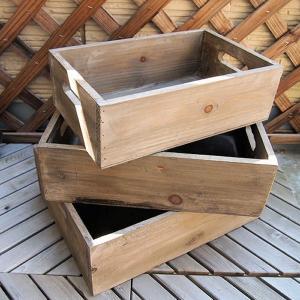 ウッドボックス 3個 セット|comfy-shop