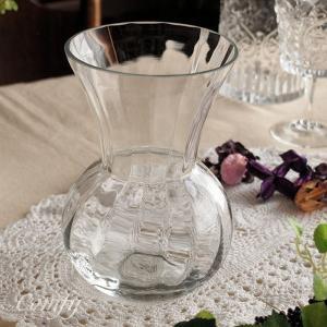 インテリア雑貨 パンプキンベース ガラス花瓶 アンティーク調 フラワーベース|comfy-shop