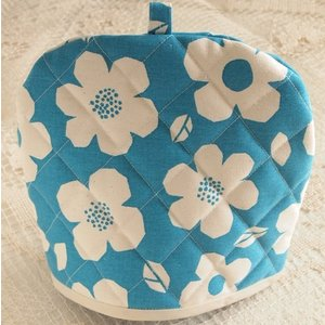 ティーコジー ポットカバー プリムラ ブルー ハンドメイド雑貨|comfy-shop