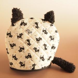 ティーコジー ポットカバー ブラックテールキャット ハンドメイド雑貨|comfy-shop