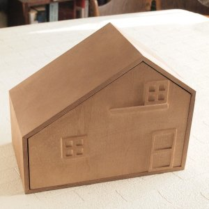 ナチュラル雑貨 ハウスボックス 小物入れ 置物 インテリア  ミニボックス|comfy-shop