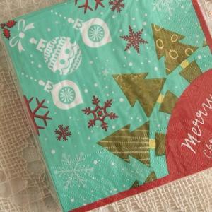 キッチン雑貨 サンドイッチ ナプキン ペーパーナプキン クリスマス ツリー|comfy-shop