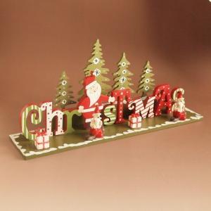 ウッド 卓上 クリスマス オーナメント ディスプレイ|comfy-shop