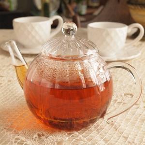 ガラス食器 ダルトン ティーポット デイジー 耐熱ガラス 茶こし付き|comfy-shop