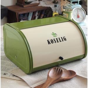 ブレッドケース 北欧雑貨 アンティーク調 ホームステッド ブレッド缶 POT キッチン雑貨|comfy-shop