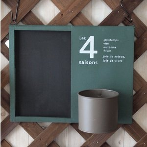 黒板 ウッドサインボード おしゃれインテリア雑貨 壁掛け グリーン|comfy-shop